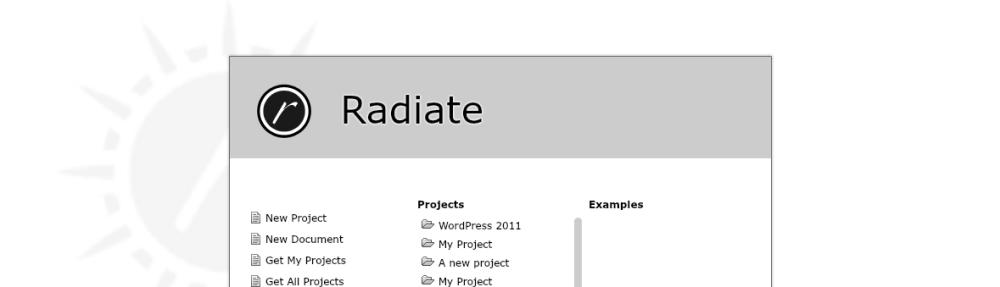 Radiate IDE